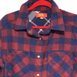 Flannel button down Butter shirt